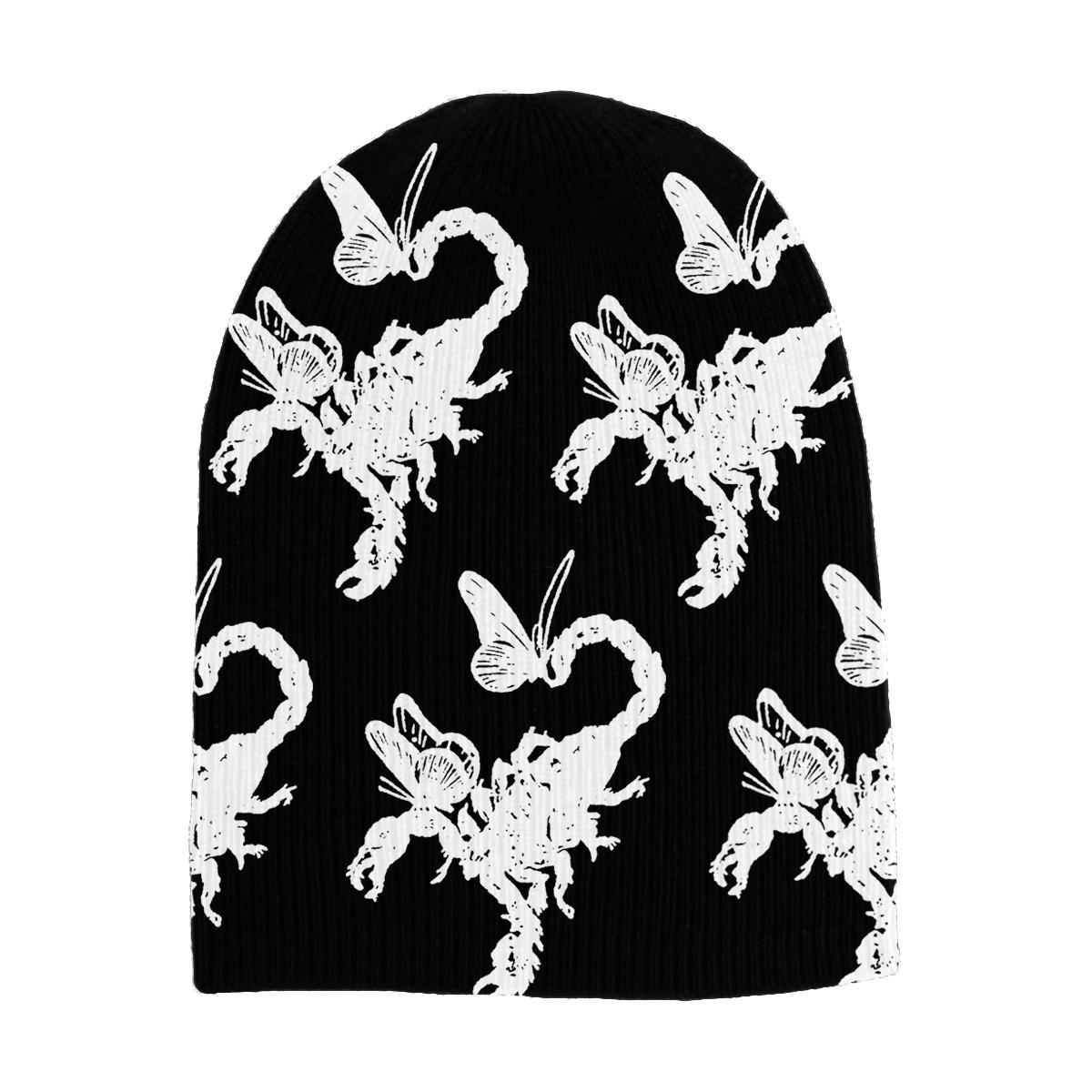 Smiley Flannel + Scorpion Beanie Bundle