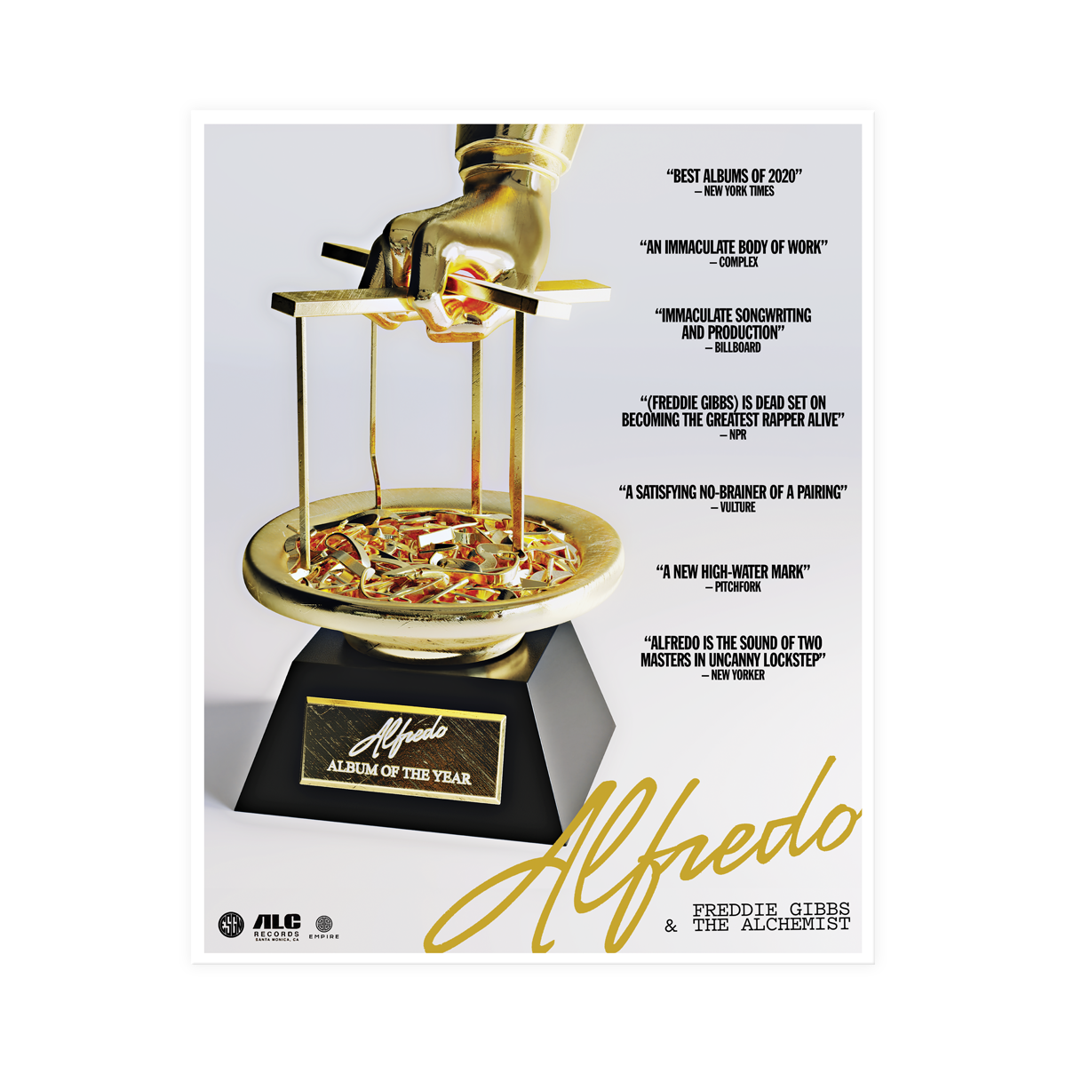 Alfredo AOTY Poster