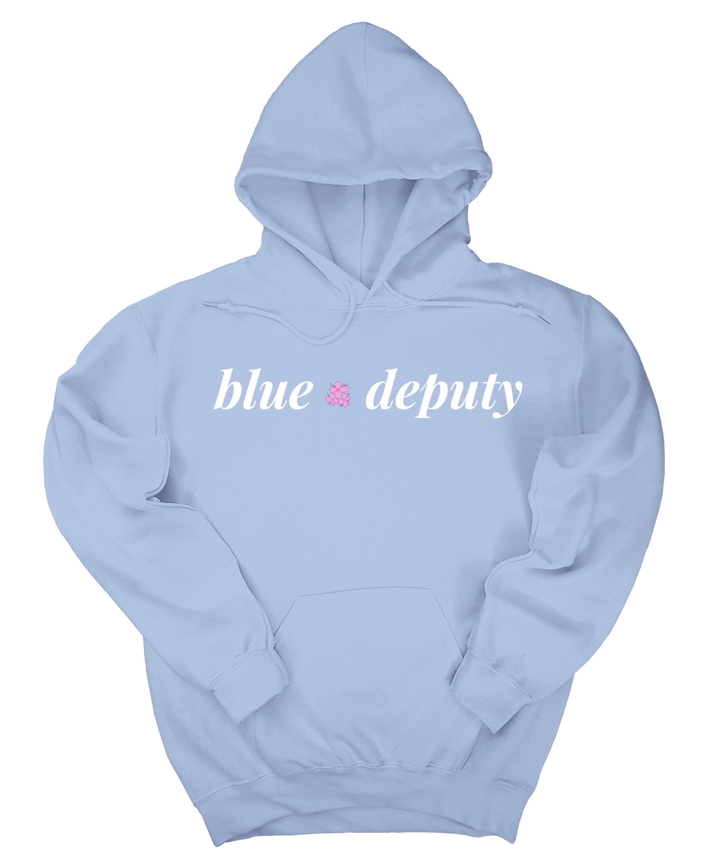 Blue Deputy Hoodie