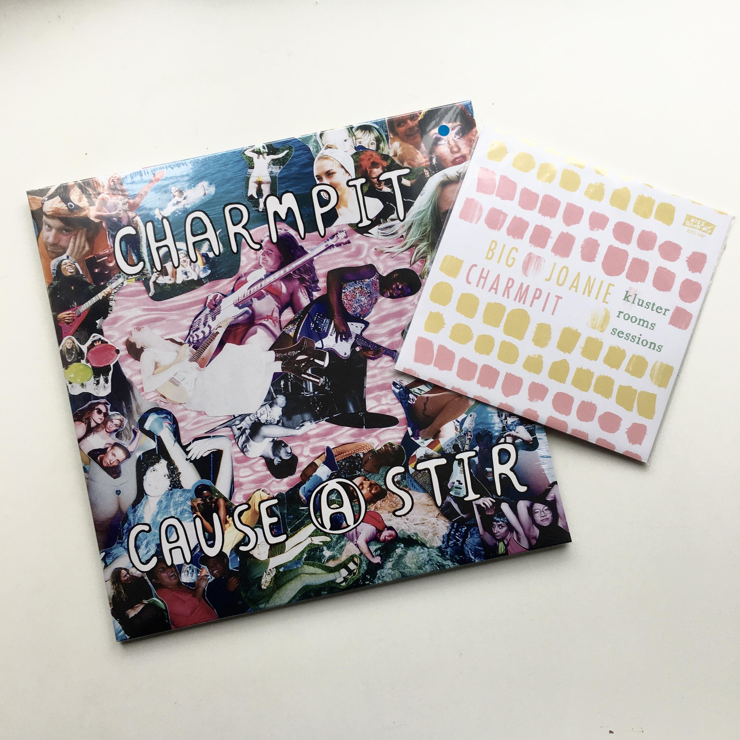 Charmpit - Cause A Stir LP & Big Joanie - Split 7