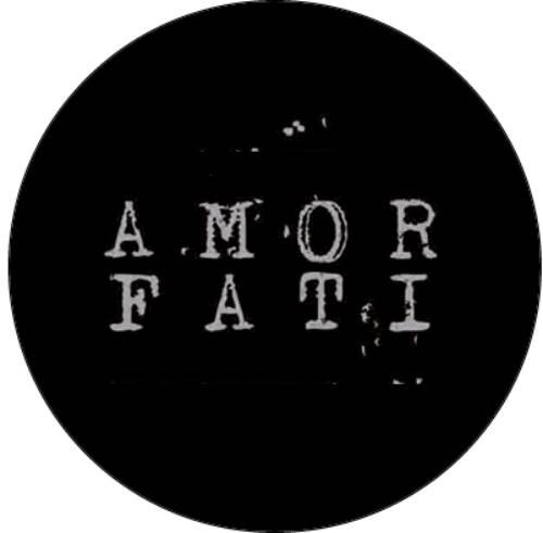 Guerilla Poubelle - badge Amor Fati
