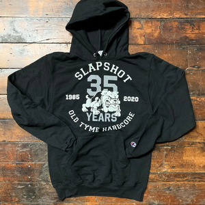 Slapshot '35th Anniversary Bulldog' Pullover Hoodie