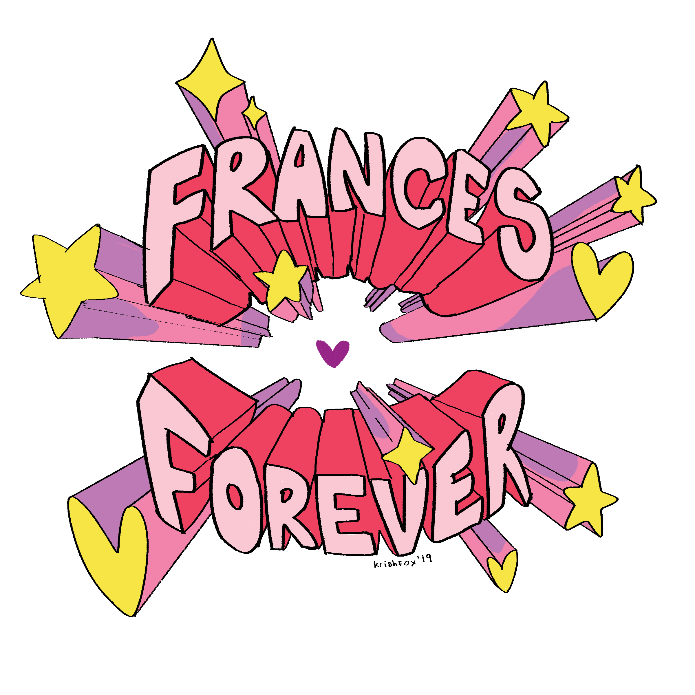 Frances Forever Sticker Pack
