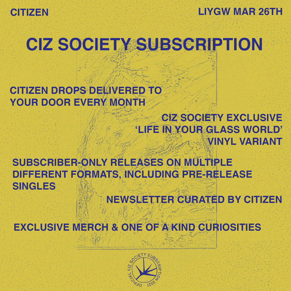 CIZ SOCIETY 2021 SUBSCRIPTION BUNDLE