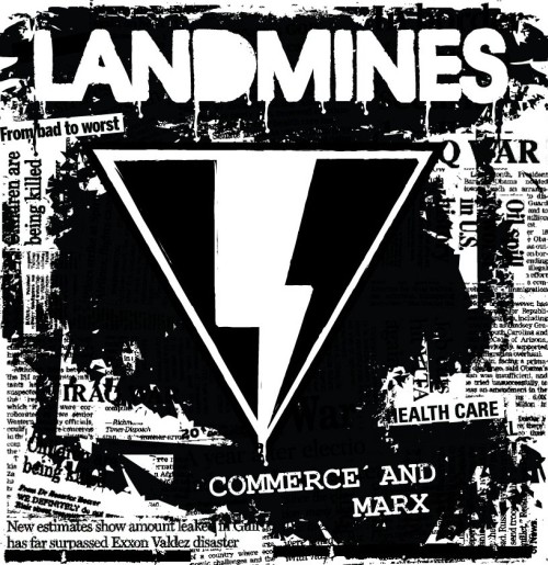 Landmines - Commerce and Marx CD / LP