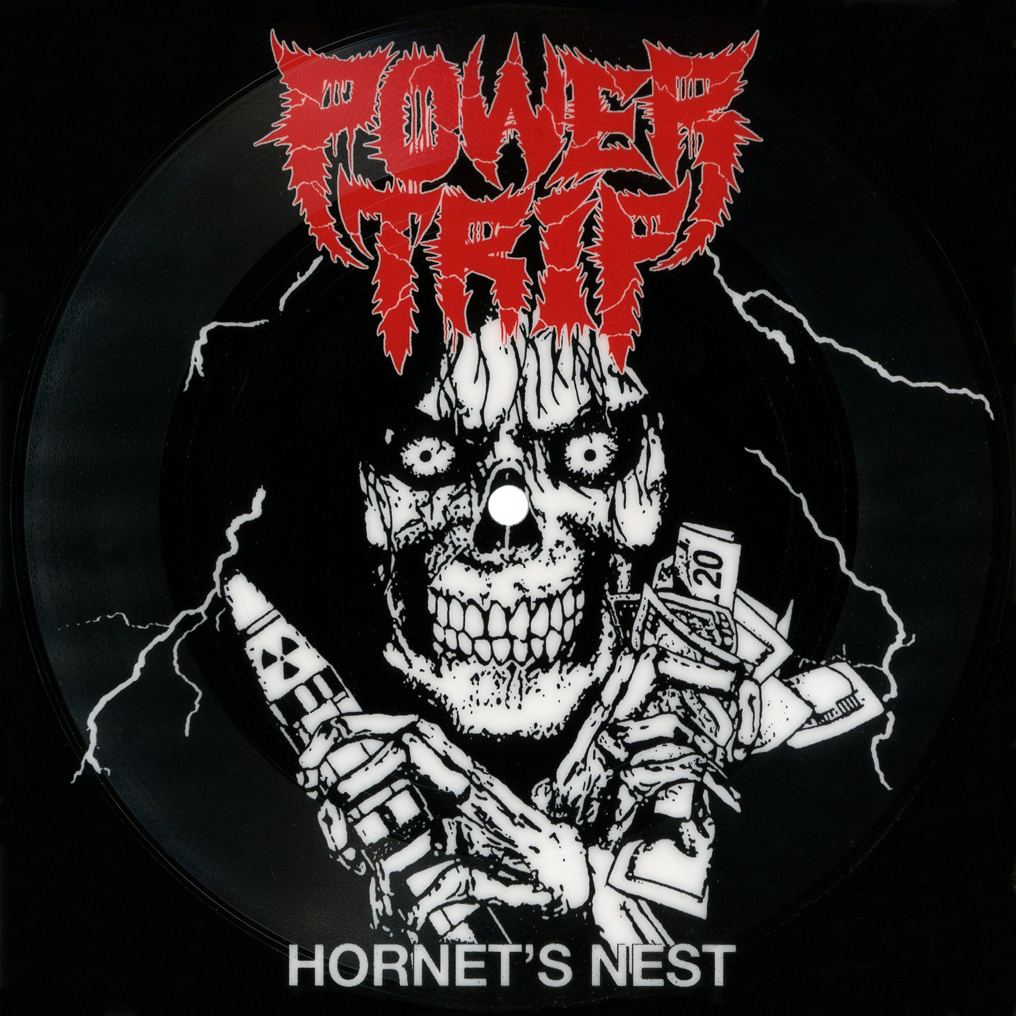 -sold out- Power Trip 'Hornet's nest' flexi picture 7