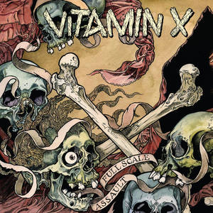 Vitamin X-Full Scale Assult lp (Import , Blue Vinyl)