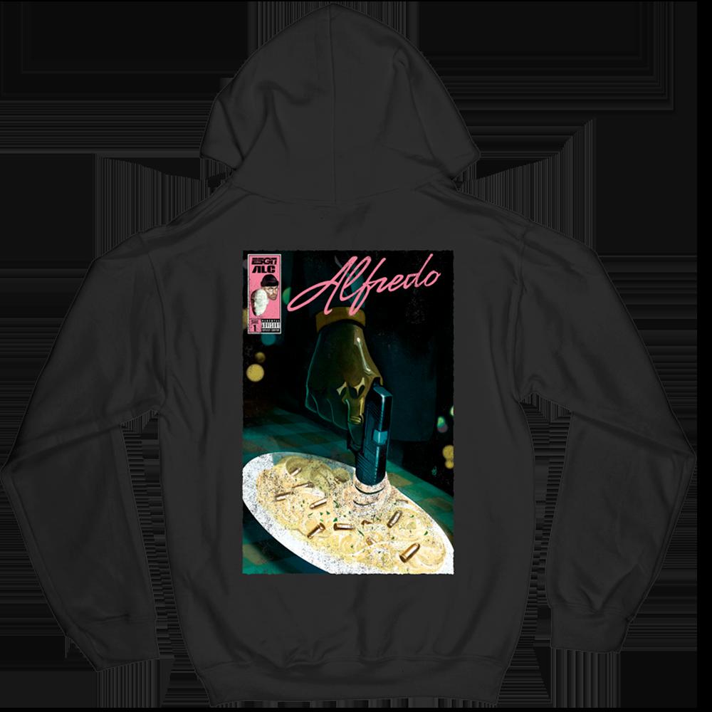Alfredo Comic Book Hoodie