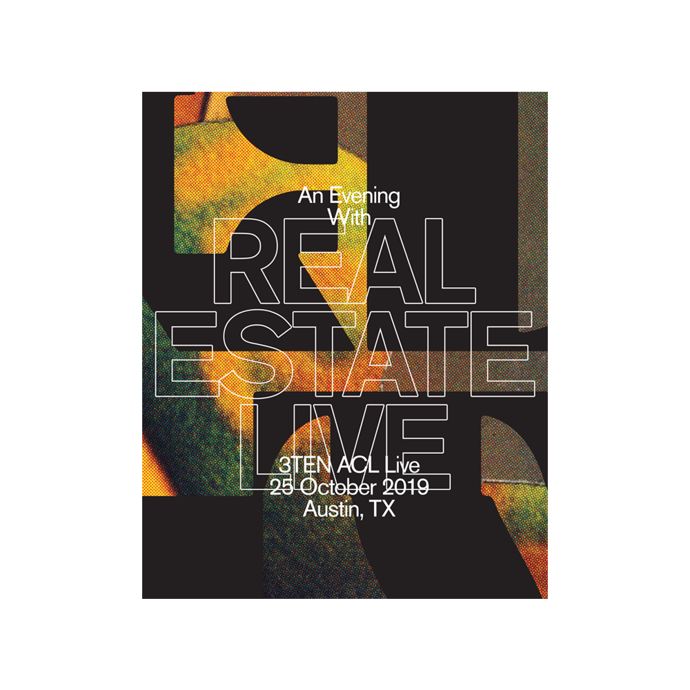 An Evening With Real Estate - Limited Edition Poster