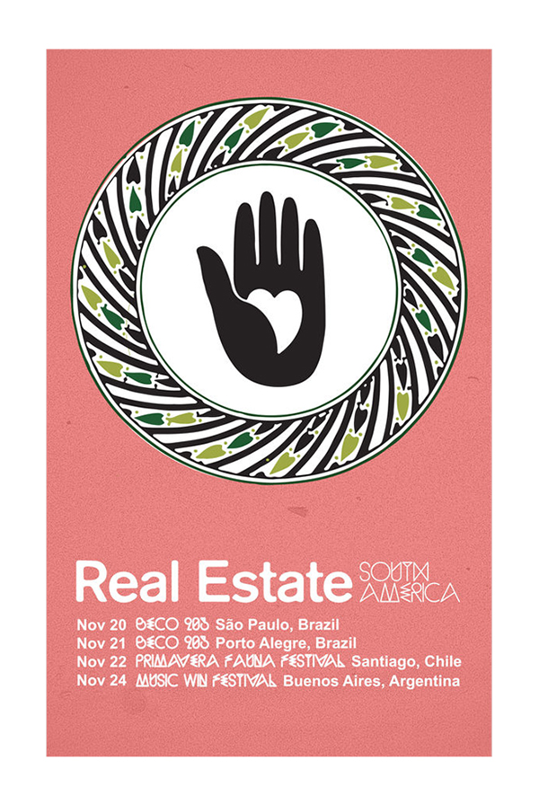 South American Tour Poster
