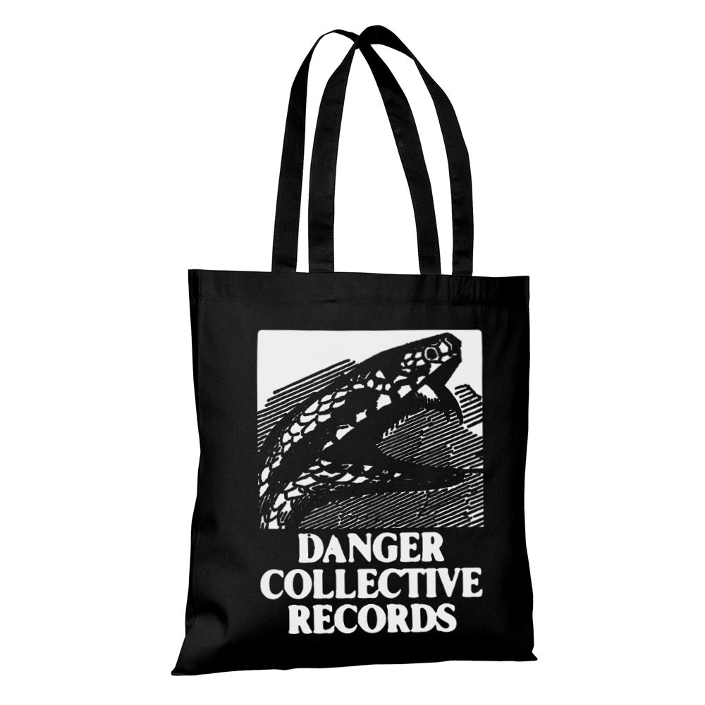 Danger Collective Logo Tote Bags