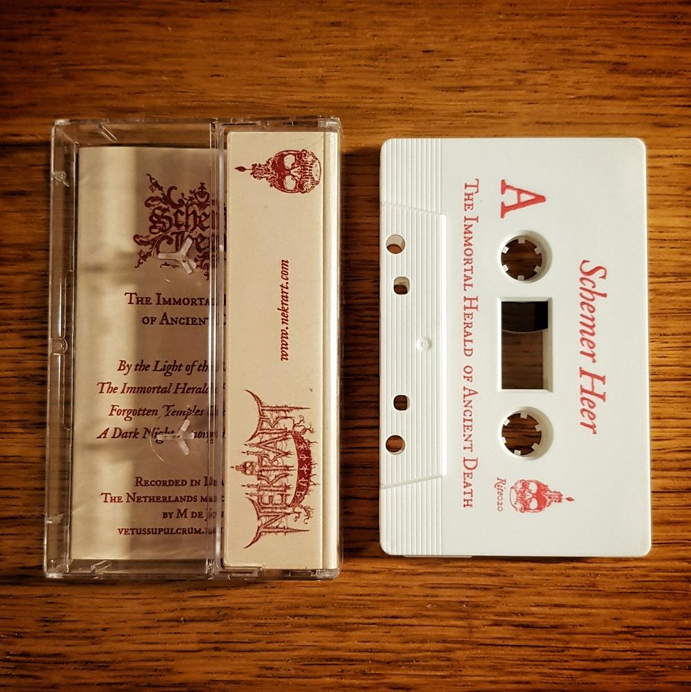 Schemer Heer - The Immortal Herald Of Ancient Death Cassette Tape