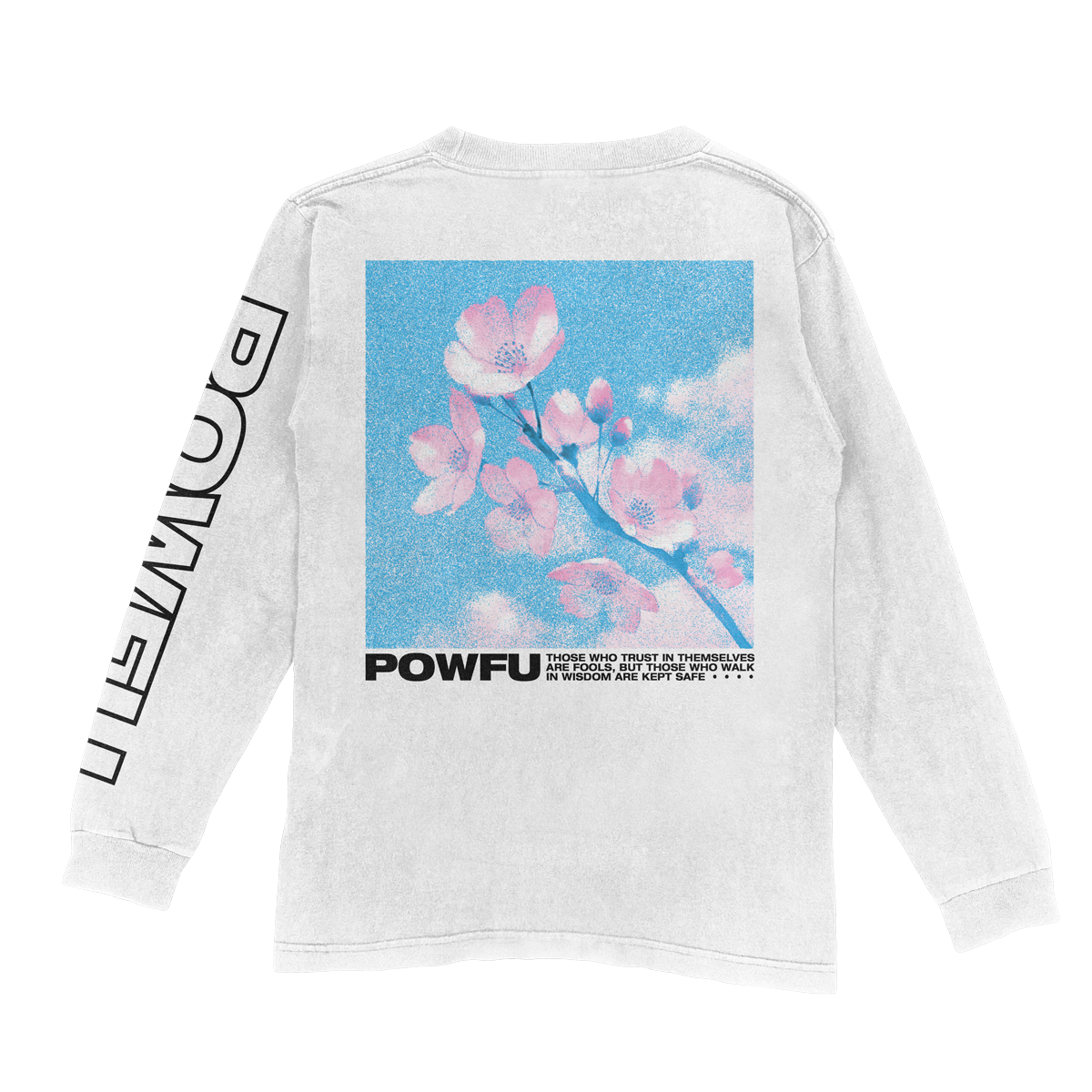 Blossom Long Sleeve - White