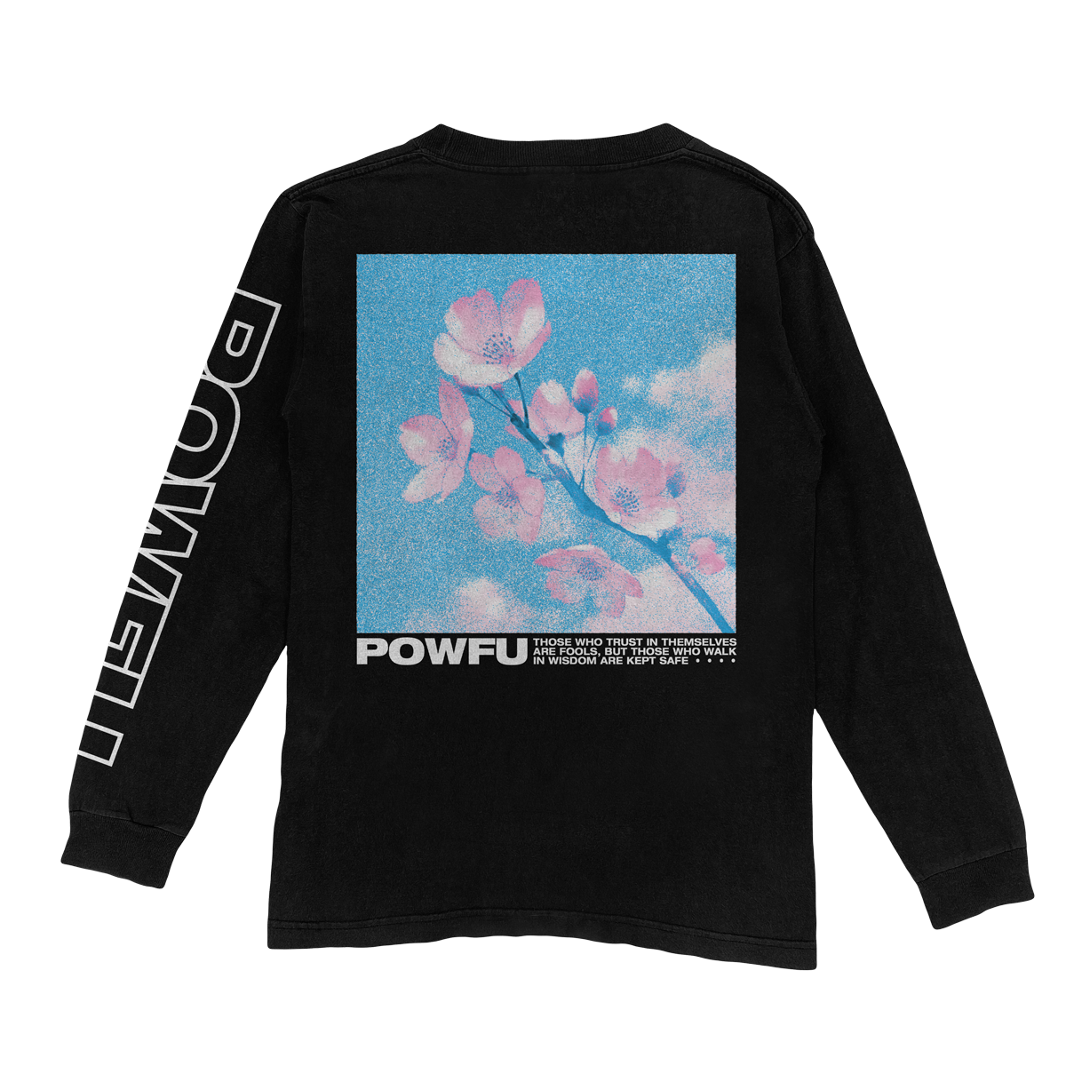 Blossom Long Sleeve - Black