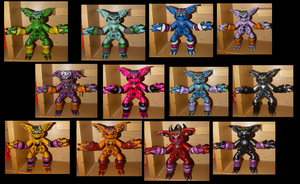 The Many Faces of Siouxsie the Gremlin - Blind Assortment