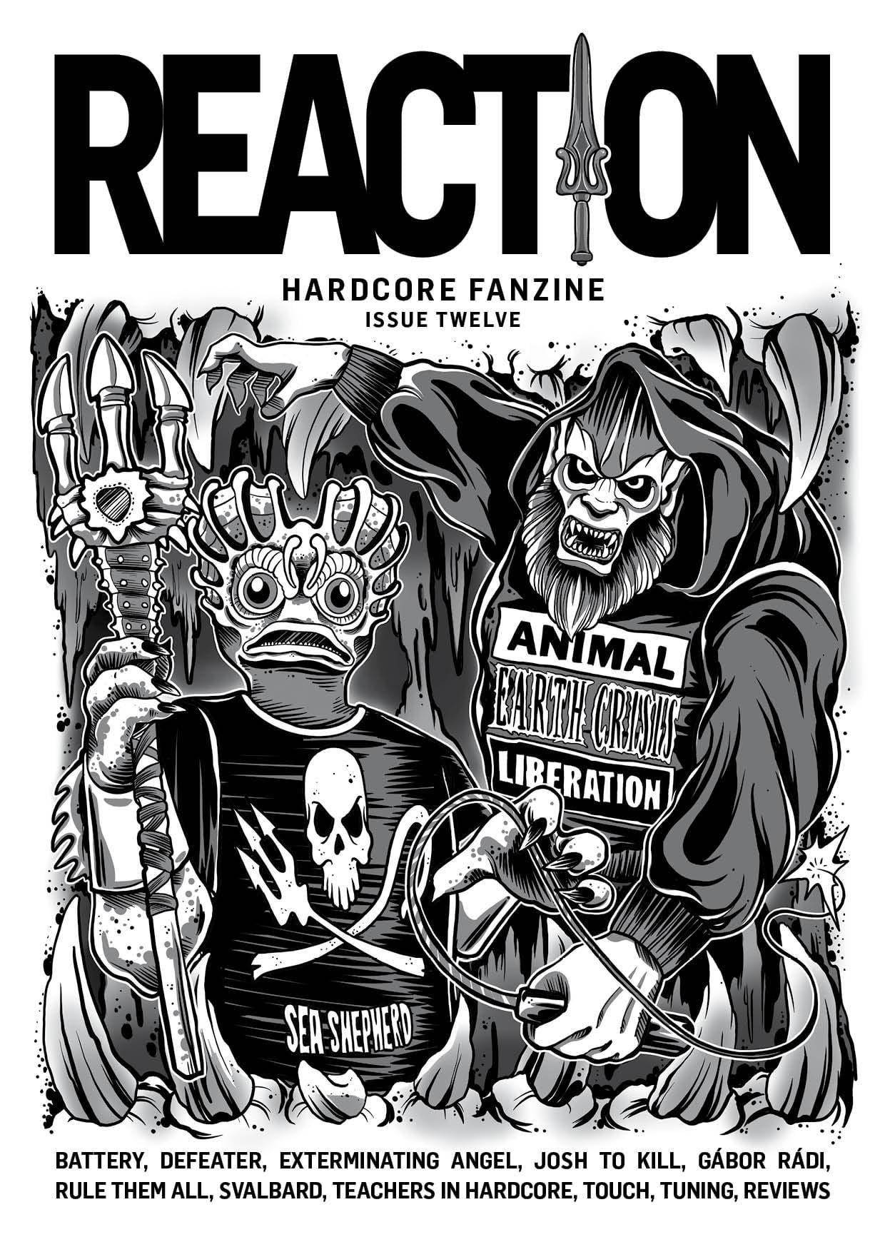 Reaction fanzine #12