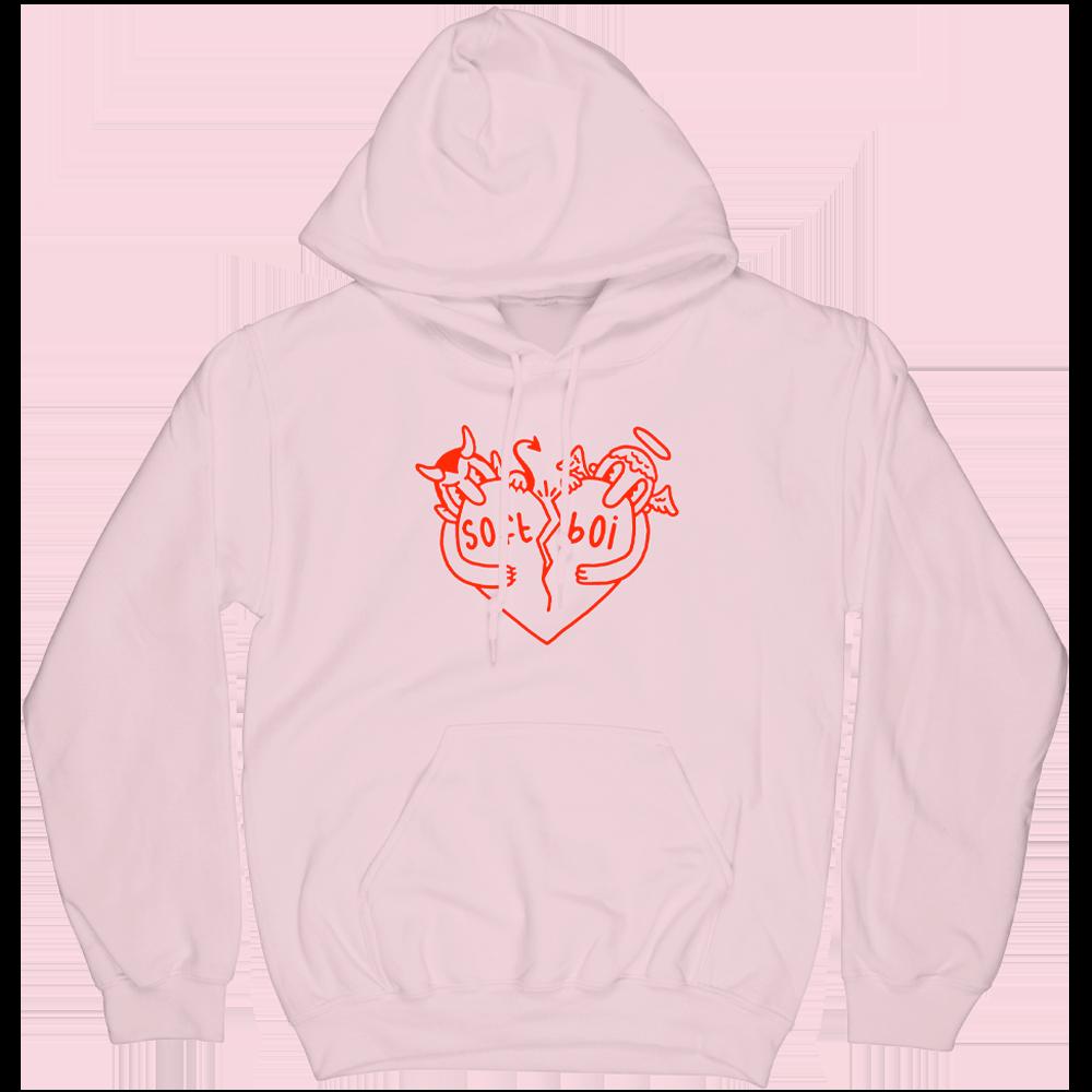 Devil Angel Hoodie - Pink