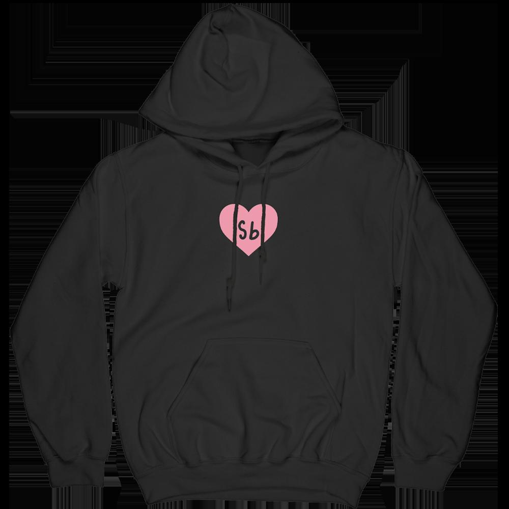 SB Heart Hoodie - Black