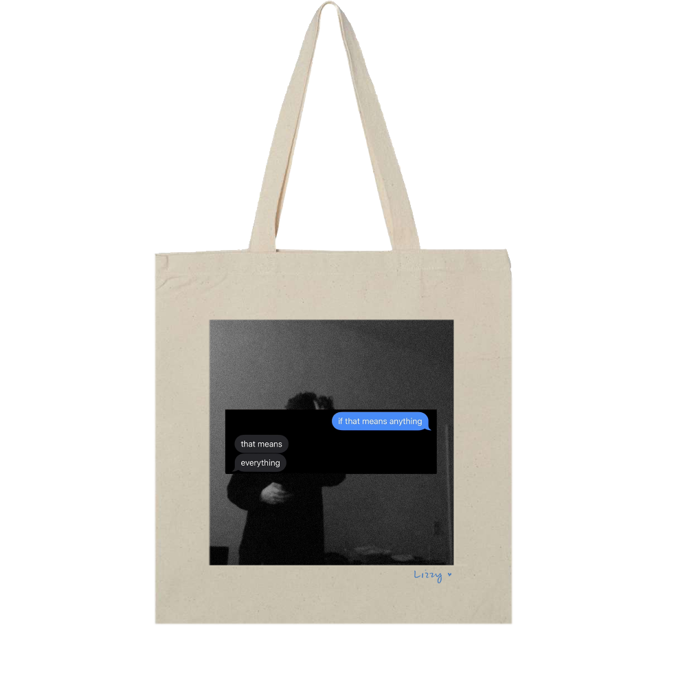 Give Me A Minute LP + Tote