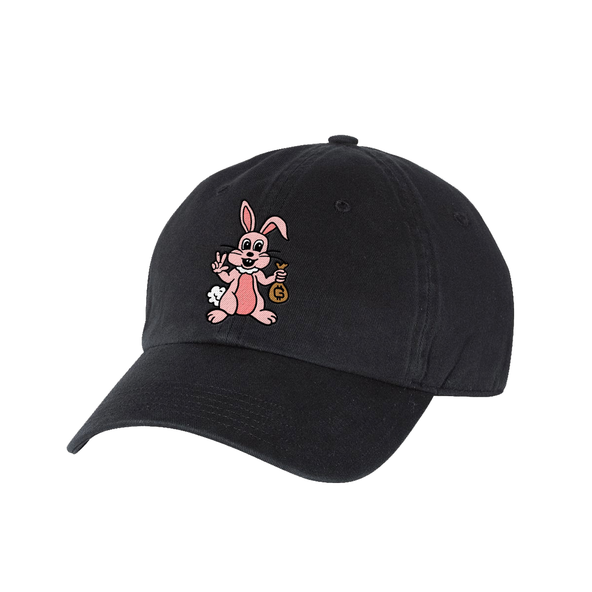 Bunny Hat - Black