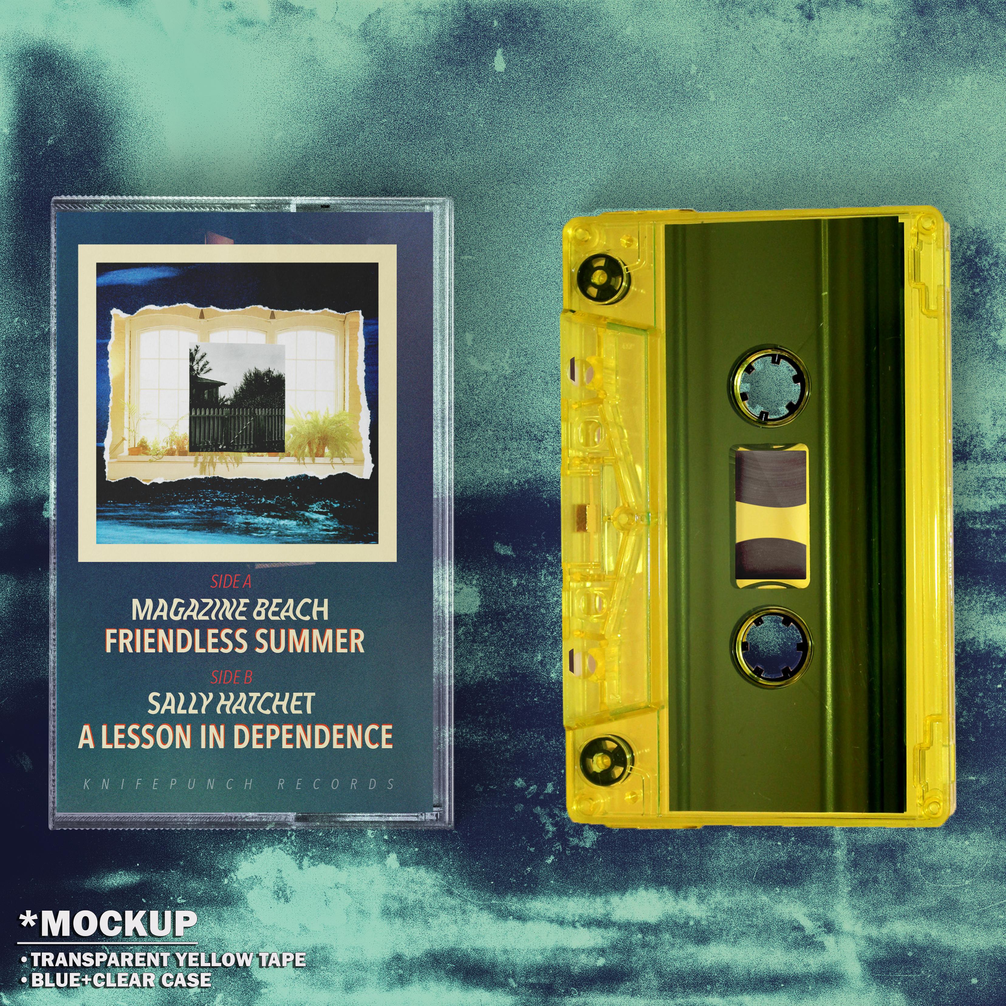 [KPR021] Magazine Beach - Friendless Summer // Sally Hatchet - A Lesson in Dependence || Split EP Tape