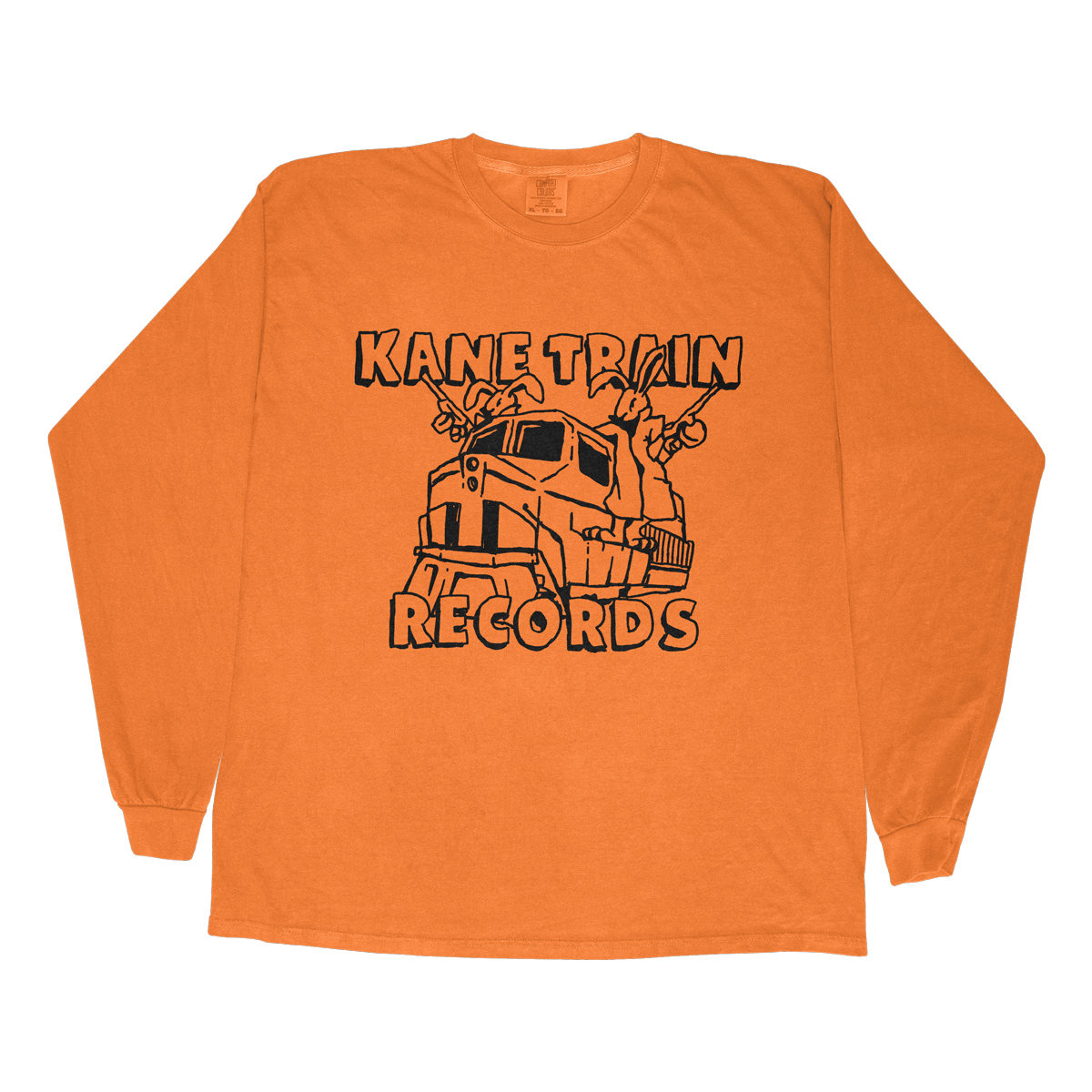 Kane Train Records Long Sleeve - Orange