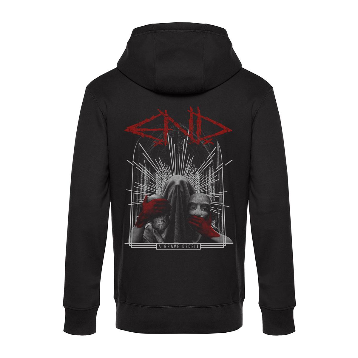E.N.D. - A Grave Deceit + Logo - Zipped Hoodie