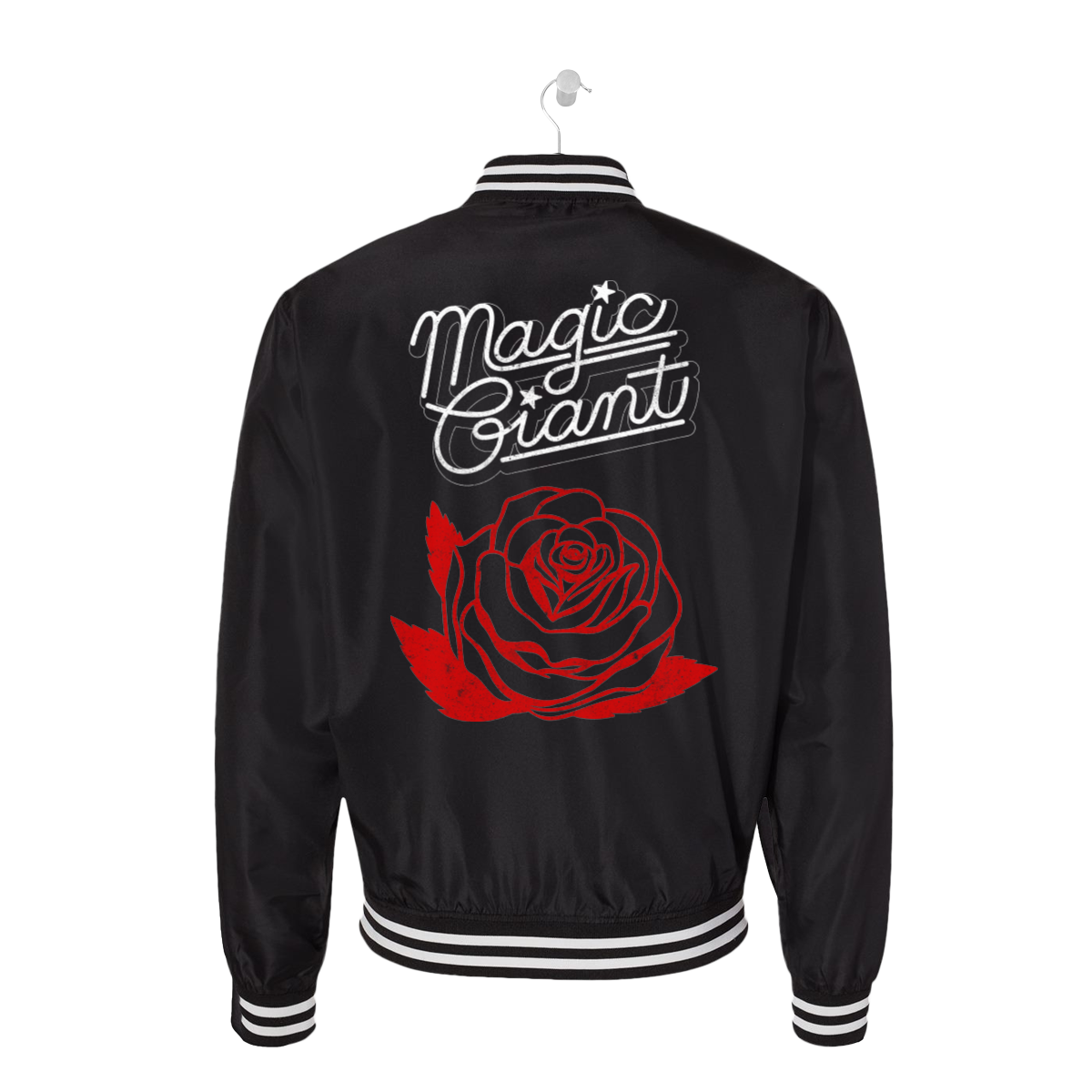 Striped Rose Bomber