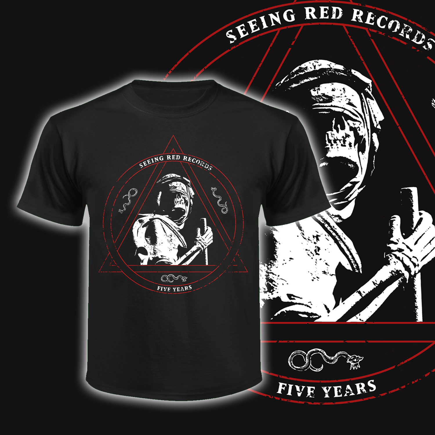 Seeing Red Records - 5 Year Anniversary
