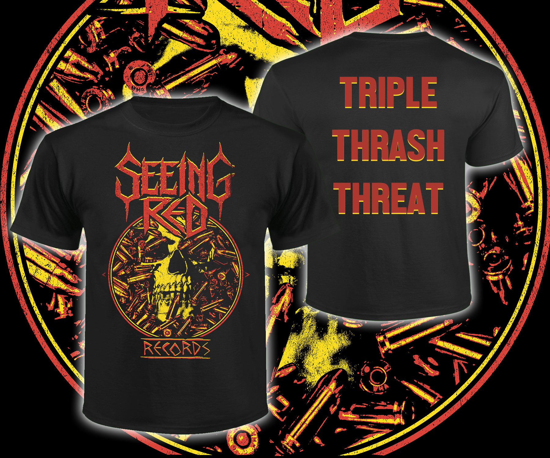 Seeing Red Records - Triple Thrash Threat