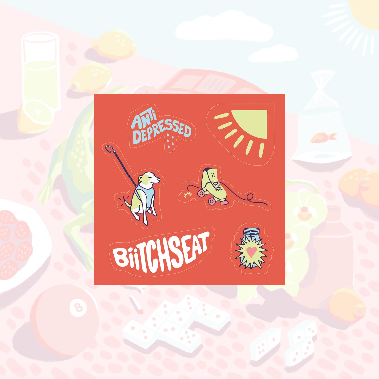 Biitchseat - Sticker Sheet