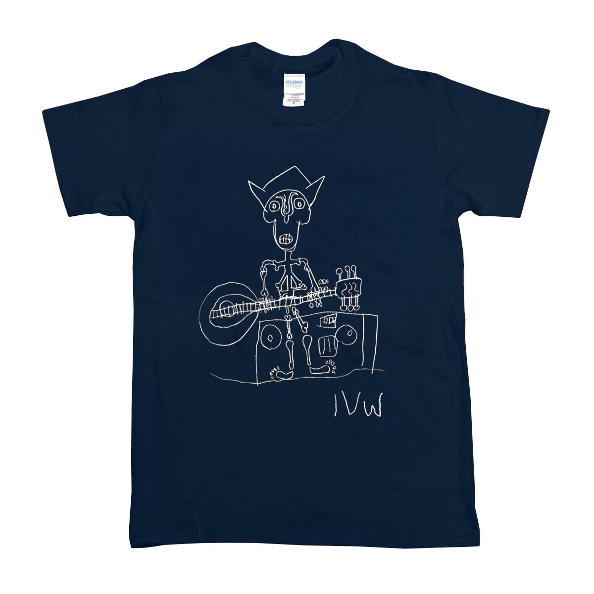 'Skeleton' T-Shirt (Navy)