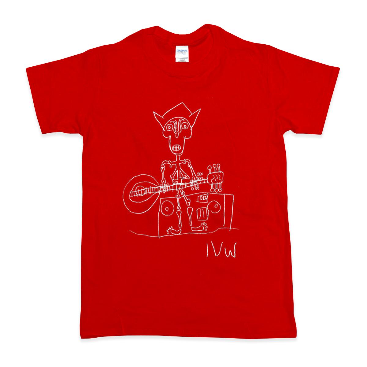 'Skeleton' T-Shirt (Red)