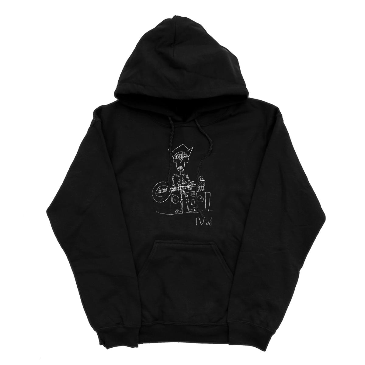 'Skeleton' Hoodie (Black)