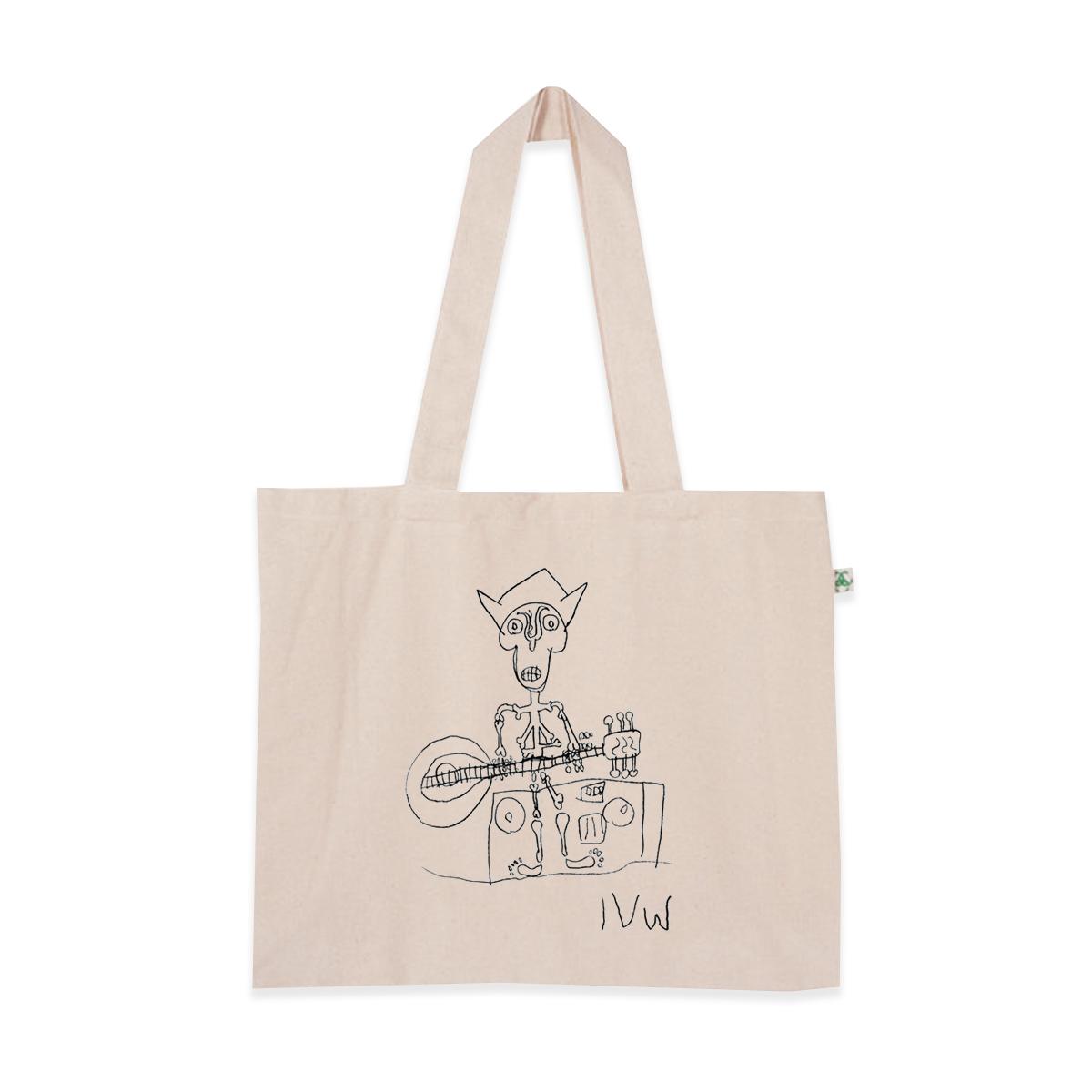 'Skeleton' Shopper Bag (Natural)
