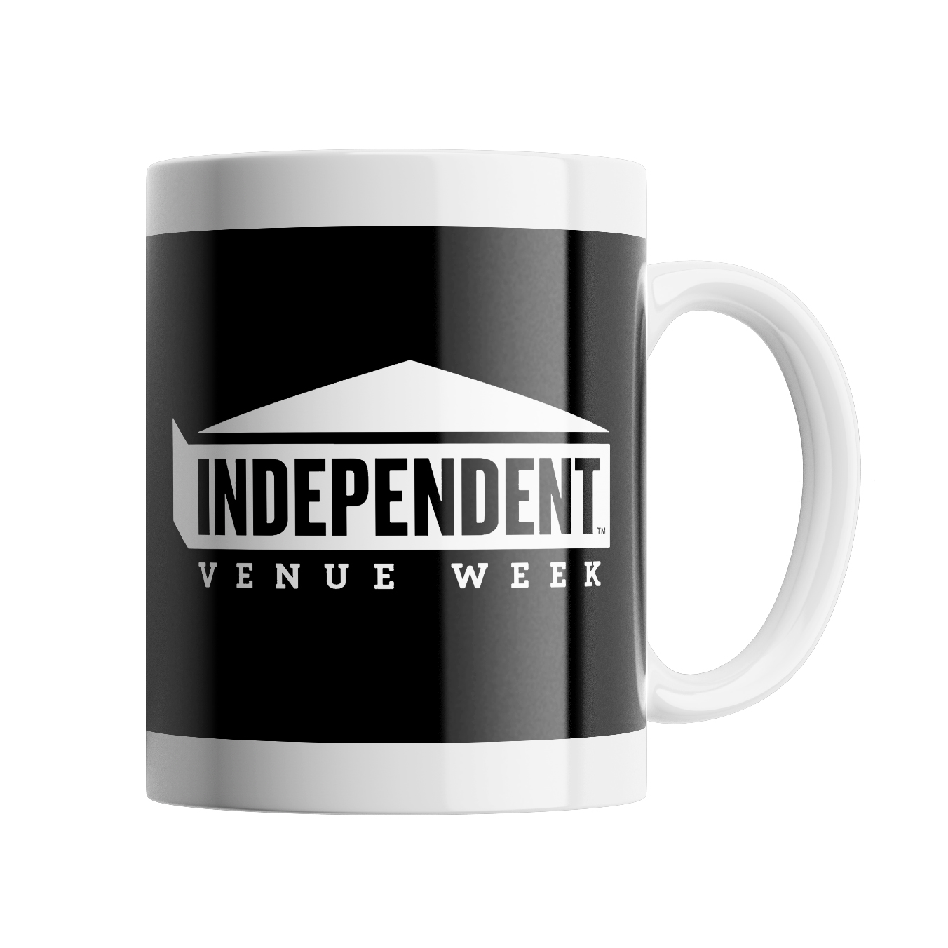 IVW Logo Mug (Black w/ White)