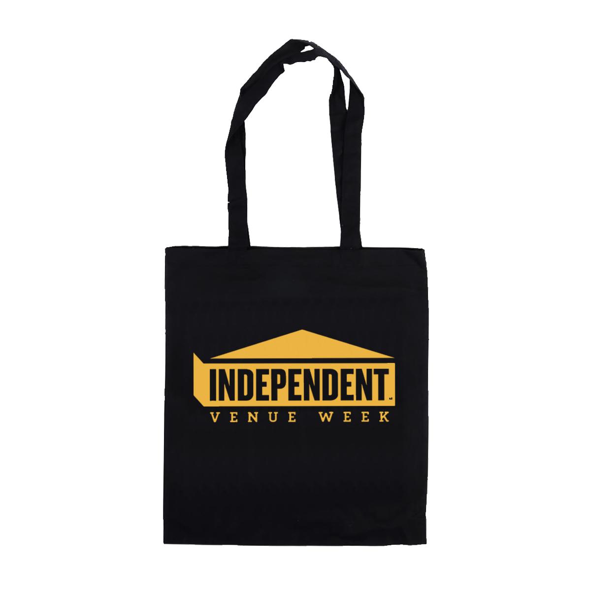 IVW Logo Tote Bag (Black w/Gold)