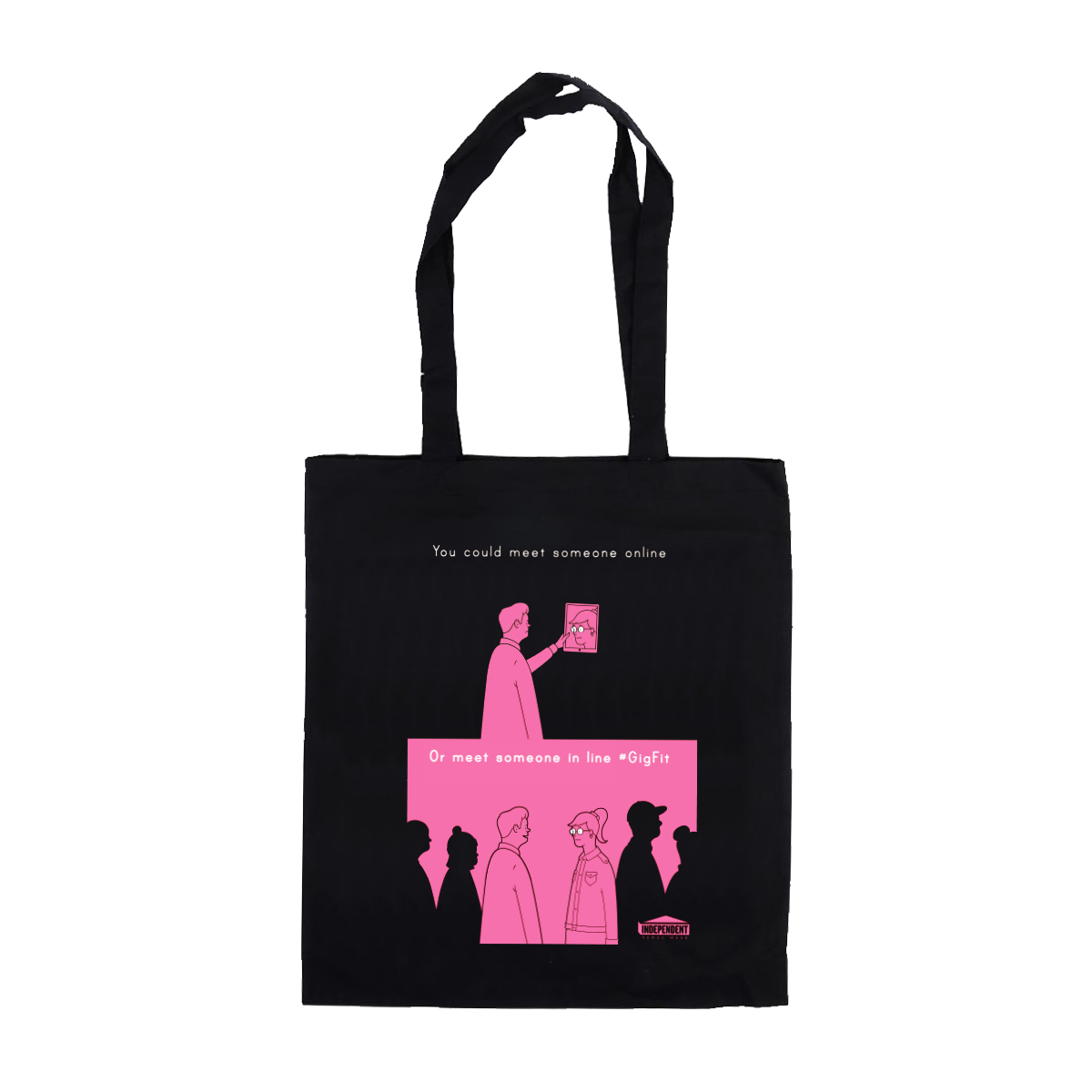 'Gig Fit' Tote Bag (Black)
