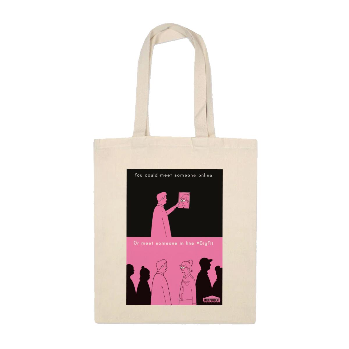 'Gig Fit' Tote Bag (Natural)