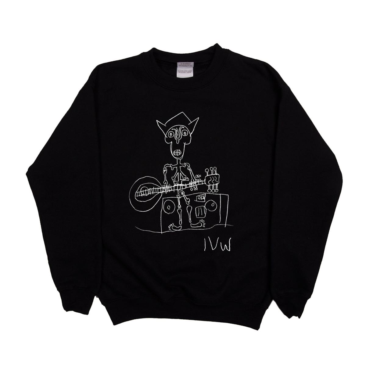 'Skeleton' Sweatshirt (Black)
