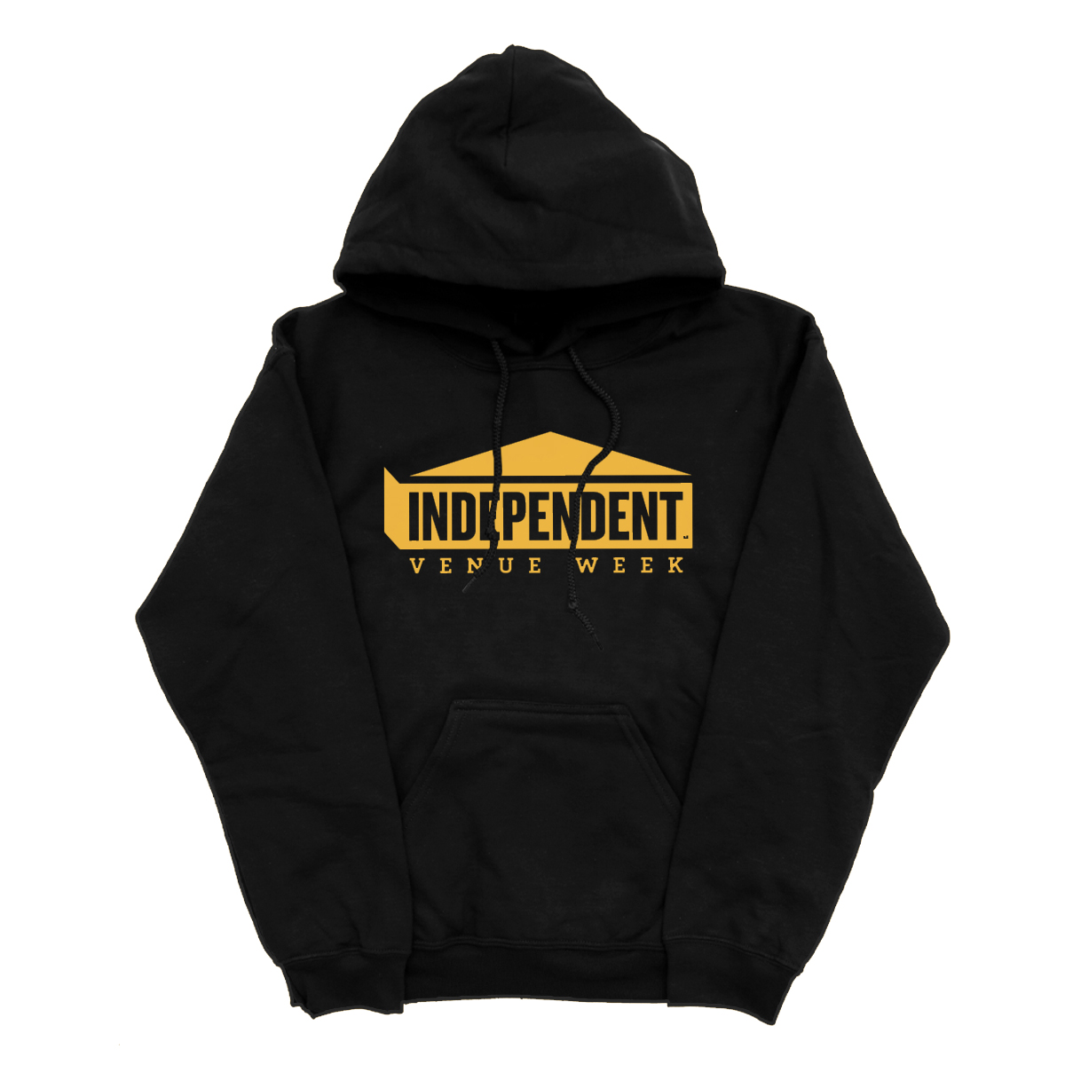 IVW Logo Hoodie (Black w/ Gold)