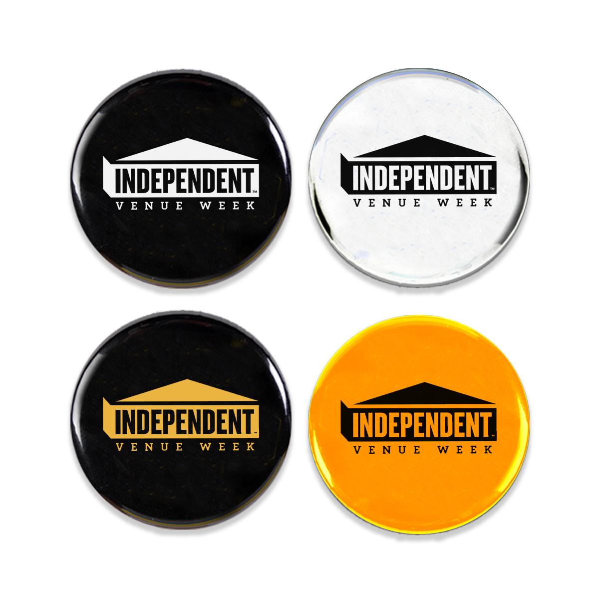 IVW Logo Pin Badges
