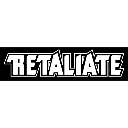 Retaliate Sticker