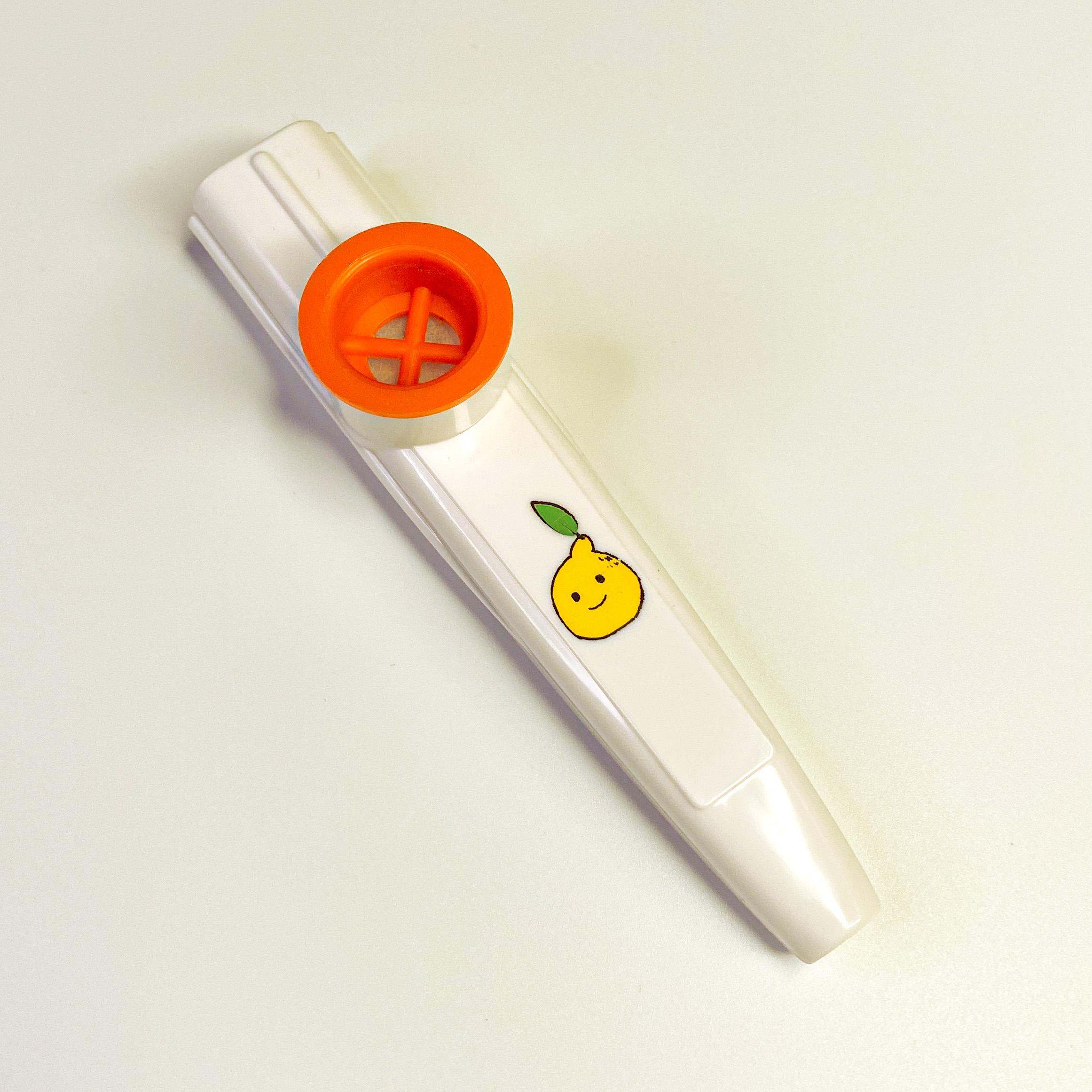 Lemon Boy Kazoo - White