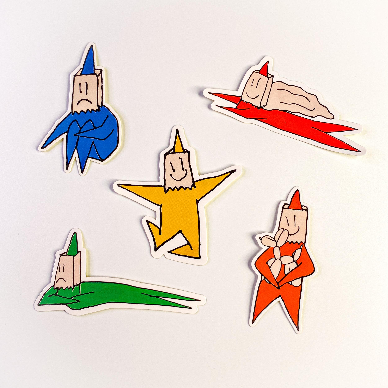 Star Guy Sticker Pack