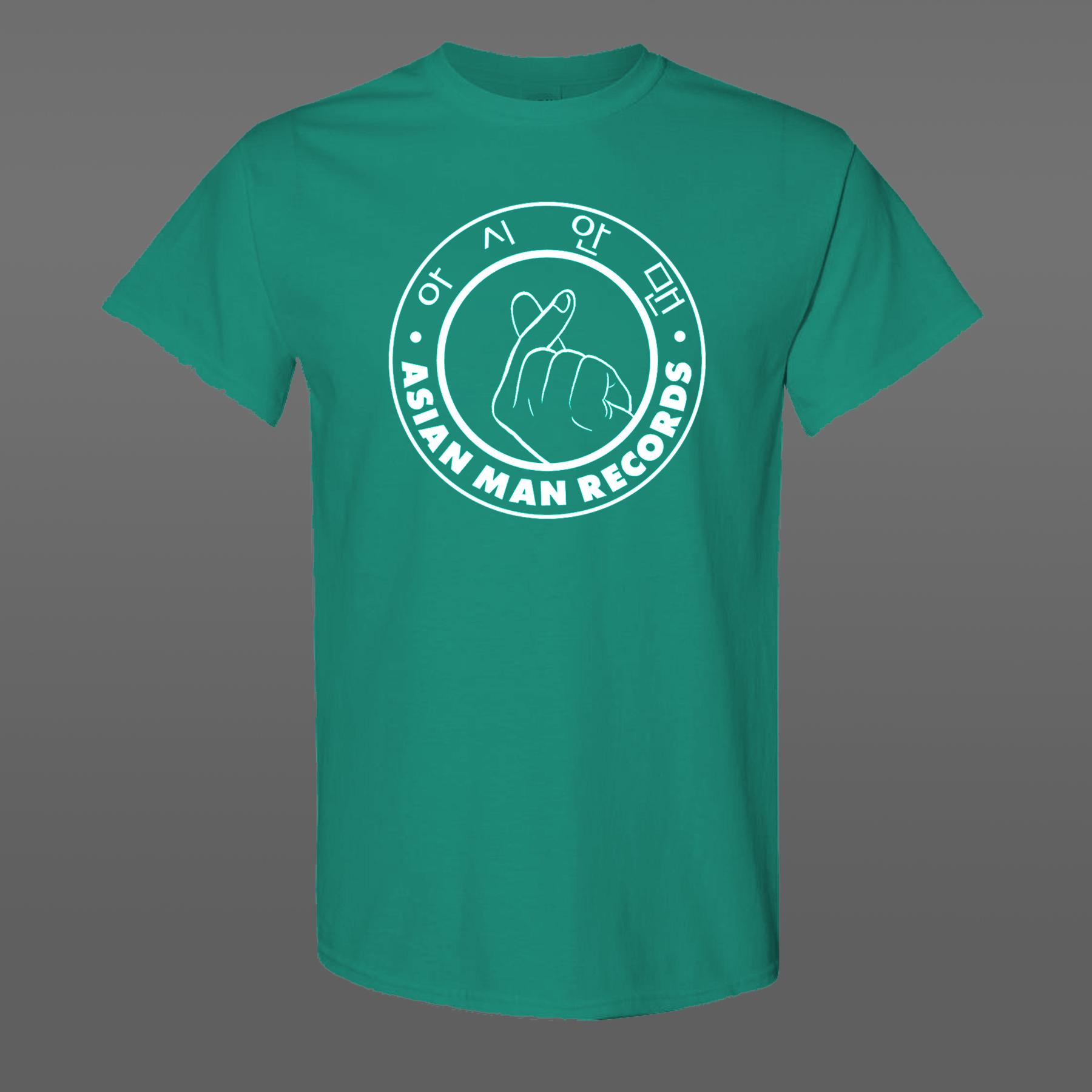 AMR finger hearts T-Shirt green
