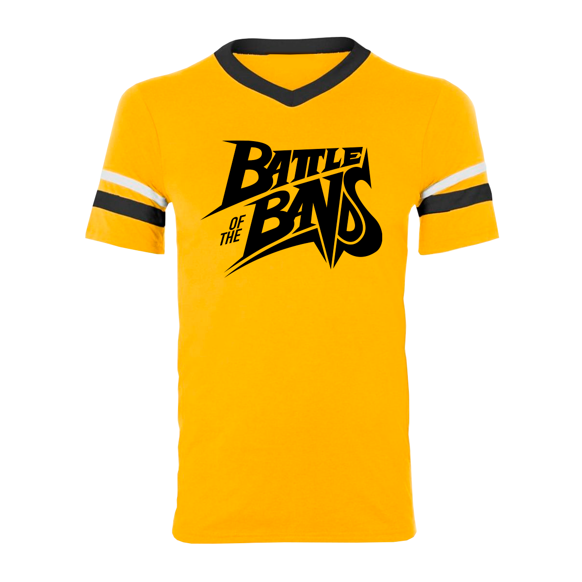 Battle of the Bands Tee - Yellow