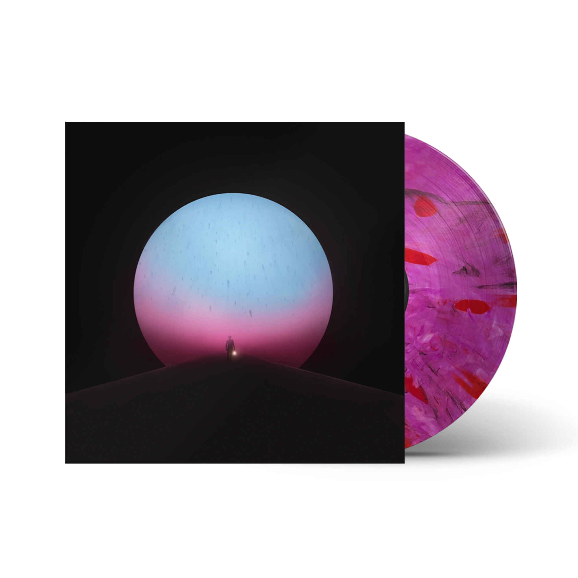 The Million Masks of God Deluxe Vinyl - Transparent With Pink + Blue - Manchester  Orchestra