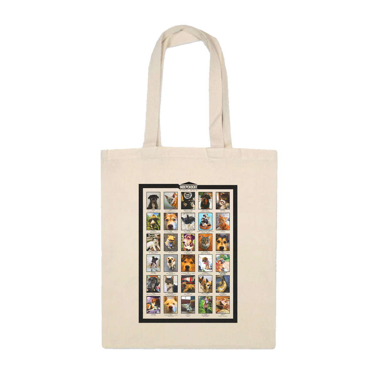 IVW Pets Tote Bag (Natural)