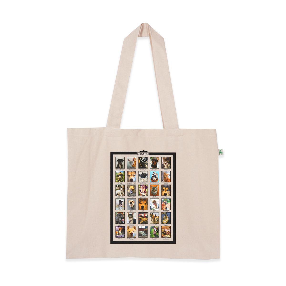 IVW Pets Shopper Bag (Natural)
